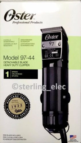 Oster Classic 97 Professional Hair Clipper, 220V - 76097-440 (NOT FOR USA)
