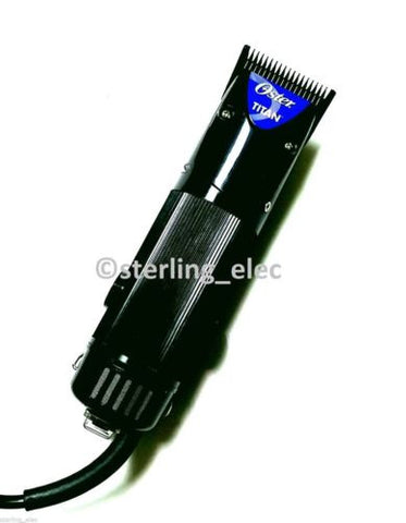 OSTER TITAN Dual Speed Professional Hair Clipper, 220V - 76076-410  (NOT FOR USA)