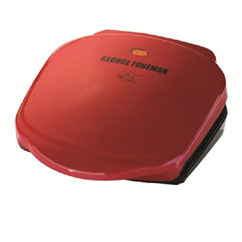 George Foreman Champ Grill, Red - GR10RM