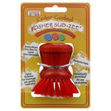 The Kosher Cook Deluxe Twist Cap Sudzee for Meat, Red -  KCKH3101M
