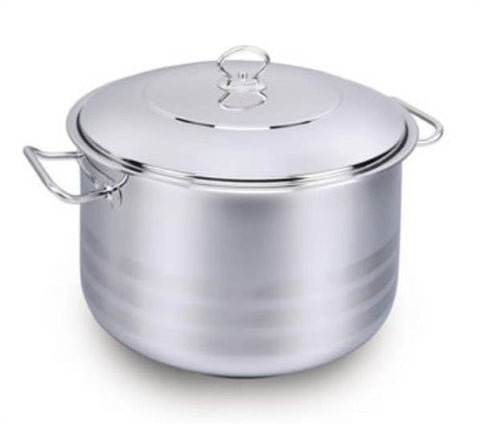 YBM Stockpot With Lid 22 Quart - A1946