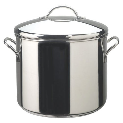 Farberware Stainless Steel 12-Quart Covered Stockpot - 50008