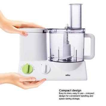 Braun Multiquick 3, 12 Cup Food Processor, 220V - FP3020 (NOT FOR USA)