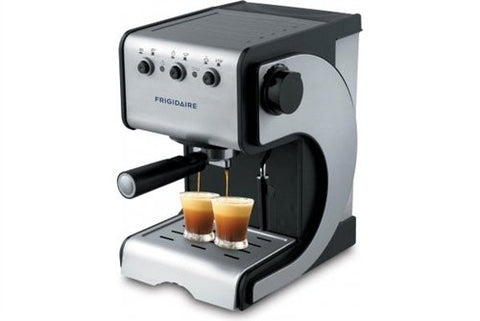 Frigidaire Espresso and Cappuccino Maker with Stainless Steel Decoration Panel 220V - FD7189 (NOT FOR USA)