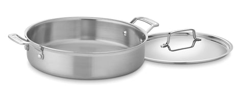 Cuisinart MultiClad Pro Stainless 5-1/2-Quart Casserole with Cover - MCP55-30N