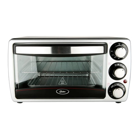 Oster 4-Slice Oven Toaster, 220V, Silver - TSSTTV7052 (NOT FOR USA)