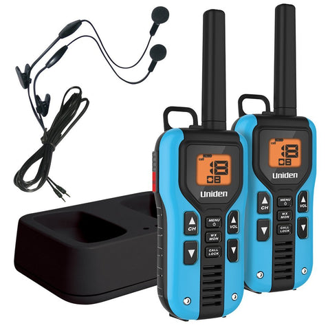 Uniden Two Way Radio with Charger and Headsets