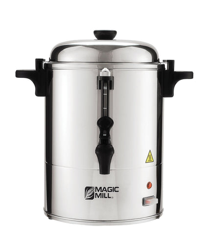 Magic Mill 25 Cup Electric Hot Water Urn, with Shabbat/Yom-tov Mode - MUR25