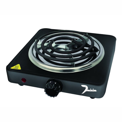 Dominion Single Coil Burner, Black - D1001