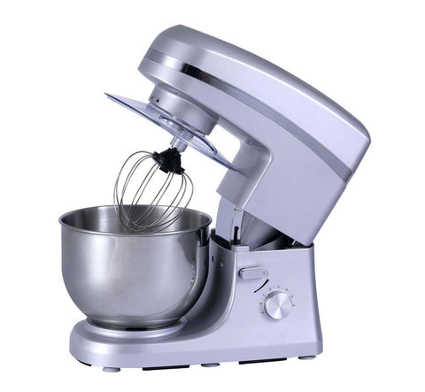 Eurolux 6 Speed Silver Stand Mixer with Stainless Steel Bowl - EL-2900