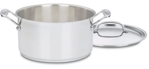 Cuisinart Chef's Classic Stainless 6-Quart Sauce Pot with Lid - 744-24