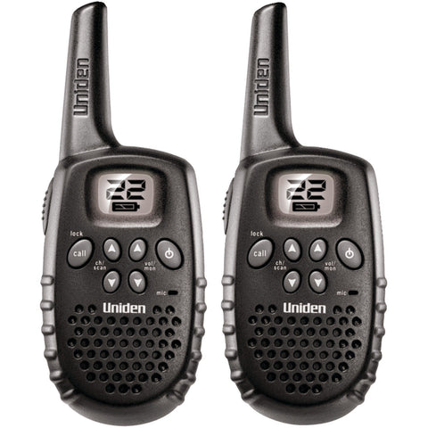 Uniden 16-Mile 22 Channel Battery FRS/GMRS Two-Way Radio/ Walkie-Talkie, Pair - GMRS1635-2