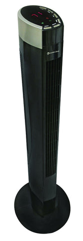 Comfort Zone 42 Inch Tower Fan CZTF642RBK