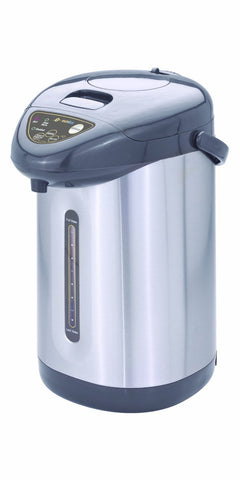 Eurolux 5 Quart Pump Pot, Charcoal - EL5151S