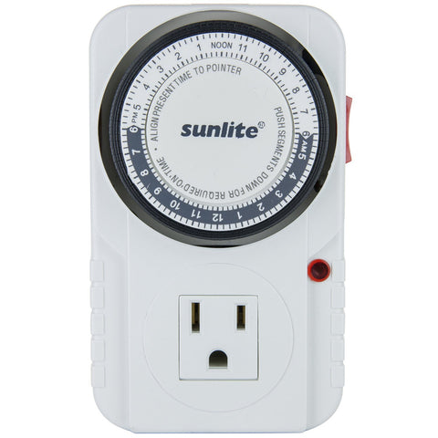 Sunlite 05003-SU T200 24 Hour Heavy Duty Appliance Timer
