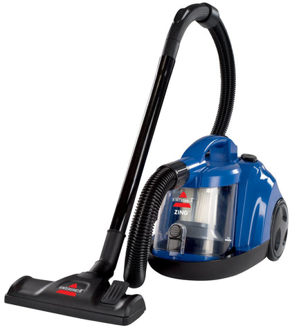 Bissel Zing Bagless Canister Vacuum, Caribbean Blue - 6489