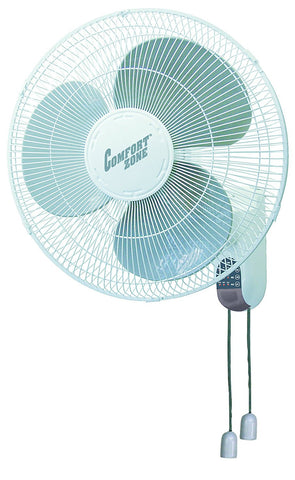 Comfort Zone Wall Mount Fan 16''- CZ16W