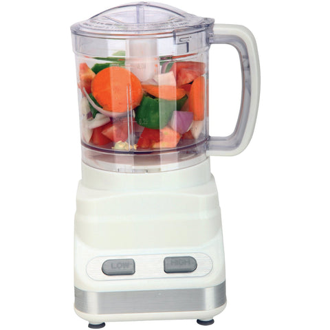 Brentwood 3 Cup Food Processor, White - FP546