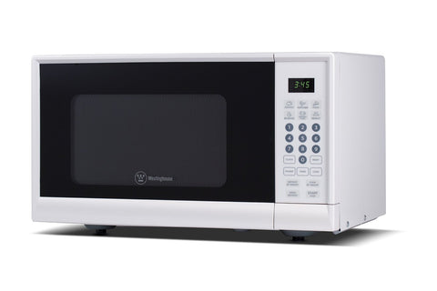 Westinghouse 900 Watt Counter Top Microwave Oven, 0.9 CU. Ft. White - WCM990W