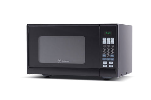 Westinghouse 900Watt Counter Top Microwave Oven, 0.9 Cu. Ft. Black - WCM990B