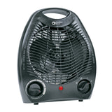 Comfort Zone Personal Fan Heater Black