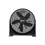 Comfort Zone 20-inch Turbo Kool Machine, Black CZ700T