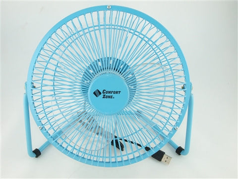 "Comfort Zone 8"" High Velocity Fan - CZHV8USB"