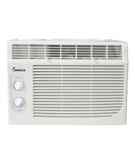 Impecca 6,000 BTU/h Mechanical Controlled Mini Window Air Conditioner, IWA06KM15