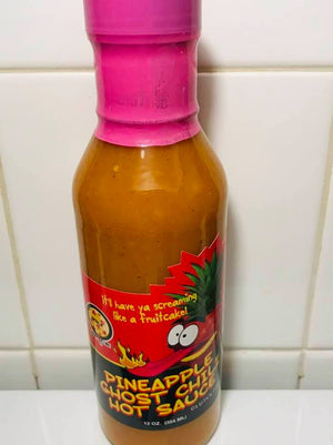 12 oz. Pineapple Ghost Chili Sauce