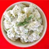 Garlic Dill Potato Salad