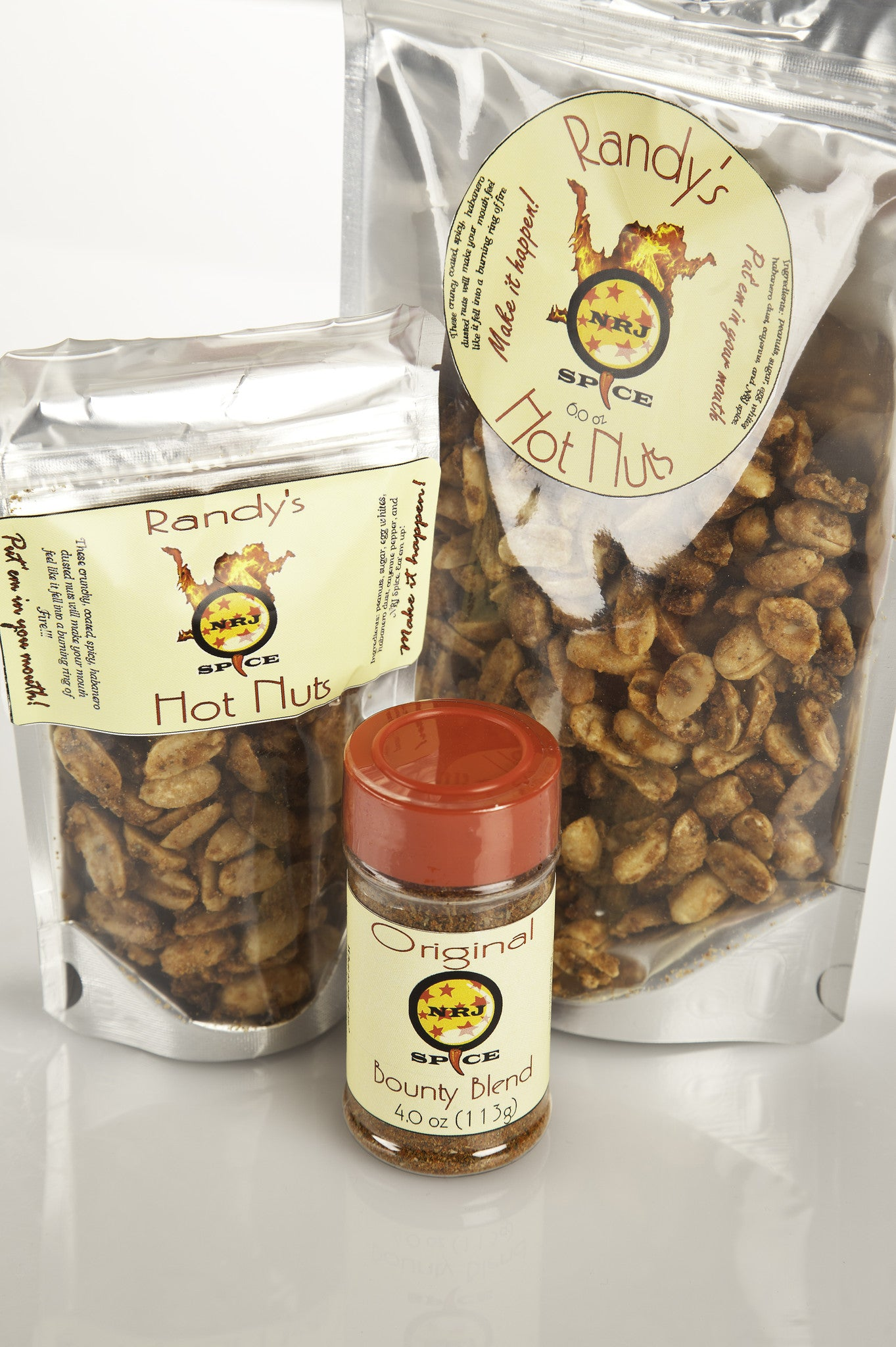 Randy's Hot Nuts 6 oz.