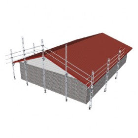 Pack B Full Gable End and 12.0m of Straight Edge Protection