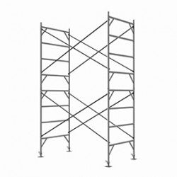 Double/5 Plank (1.37mW ) Full Size Scaffold Tower