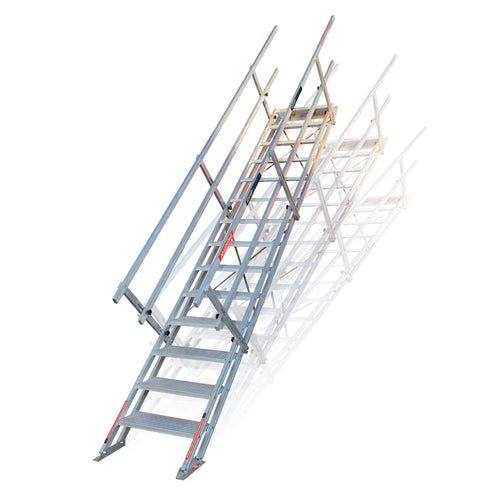 Portable Stairs - Self Levelling Aluminium Stairs
