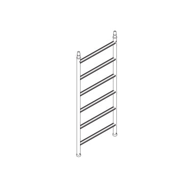 MOBI Single Width Multi Ladder Frame