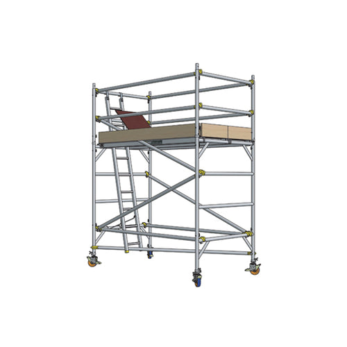 Double Width (1.37m) H Frame Platform with Snaplock Bracing