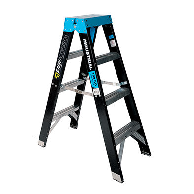 Fibreglass Double Sided Step Ladders (0.9m - 2.4m)