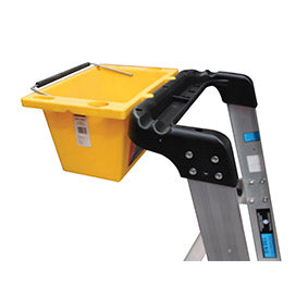 Optional Clip-On Tool Bucket for Trade Series Platform Ladders