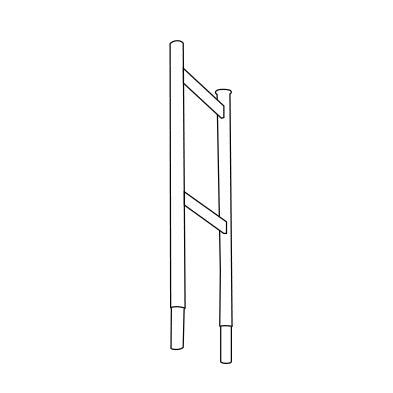 Safedeck Guardrail End Frame