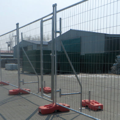 Temporary Fence Filled Plastic Feet