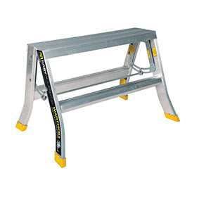 Warthog 800mm-wide Double Sided Ladders (0.6m - 1.2m)