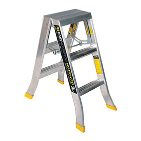 3 step ladder. Warthog Double Sided Step Ladders (0.9m - 2.7m) Standard Width