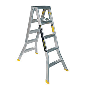 5 step ladder. Warthog Double Sided Step Ladders (0.9m - 2.7m) Standard Width