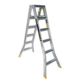 6 step ladder. Warthog Double Sided Step Ladders (0.9m - 2.7m) Standard Width