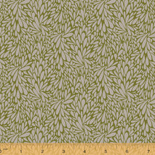 Load image into Gallery viewer, Solstice, Leafy - Olive by Sally Kelly, per half-yard