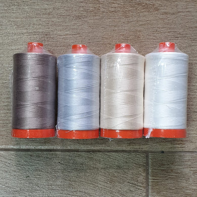 Aurifil Collection:  Quilters 50wt 4-PACK by 2Quilters