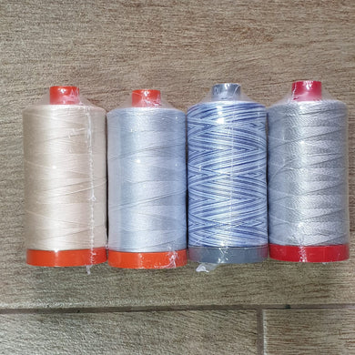 Aurifil Collection: Quilter Starter 4-PACK by 2Quilters