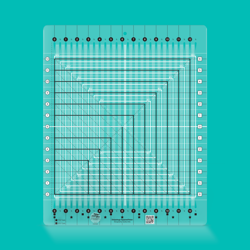 Creative Grids Stripology Squared Quilt Ruler
