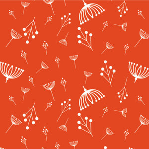 Best of Charley Harper, Twigs Tomato, per half-yard