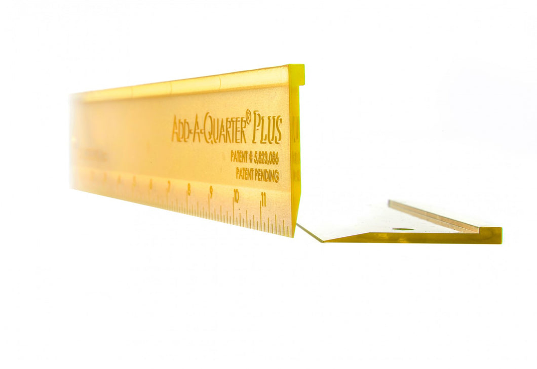 Add-A-Quarter Plus 2-Ruler Combo Pack (Yellow)